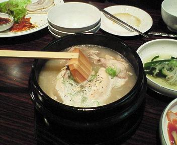 韓国料理中