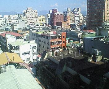 台北はいい天気