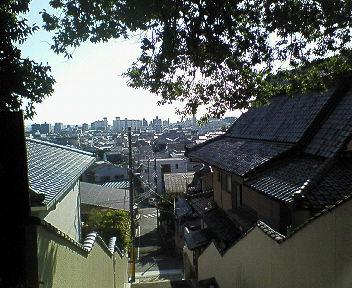 船岡山から