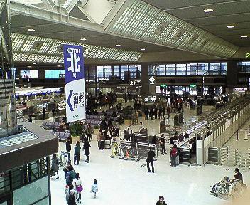 成田空港です