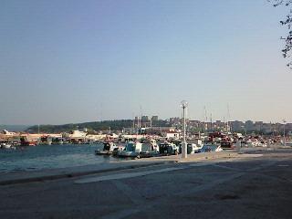 チャナッカレの海辺