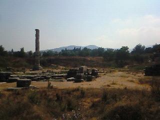 エフェス:<br />  アルテミス神殿跡