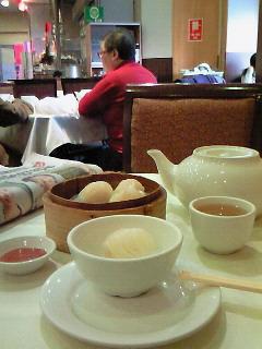 チャイナタウンで朝ご飯
